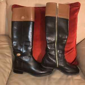 Coach Two Tone Riding Boot